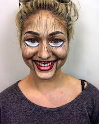 ventriloquist doll makeup