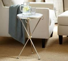 marble top end tables. Leila Marble-Top End Table Marble Top Tables W