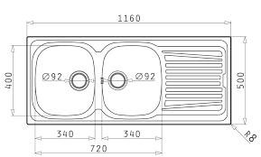 plain kitchen diagram and kitchen sink dimensions e