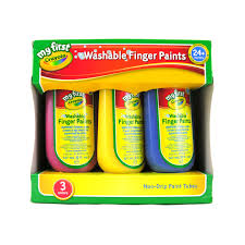 crayola 3 washable finger paint