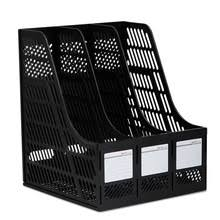 grays office supplies. 1pcs Office Supplies Deli 9847 Triple Data File Box Frame Three Bar Basket Black Gray Grays I