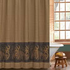 Shower Curtains Cabin Decor Browning Buckmark Shower Curtain And Accessories Cabin Decor