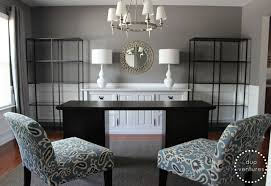 dining room and office. Turning A Dining Room Into Home Office Contemporary-home-office And O