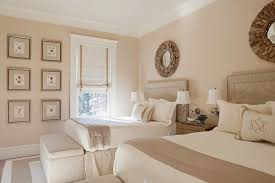 Great ... Inspiration For A Timeless Guest Bedroom Remodel In Atlanta With Beige  Walls: ...