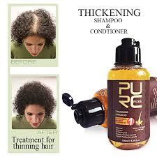 11.11 <b>PURC 100ml</b> Thickening Shampoo Ginger Hair Care Essence ...
