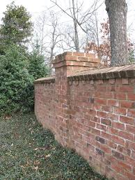 Small Picture 39 best Brick wall images on Pinterest Brick fence Garden walls