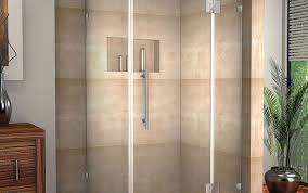 corner basco glass door enclosur tub frameless sliding home sterling menards ove custom sweep depot