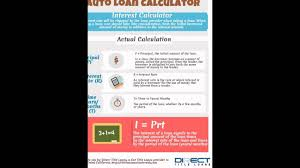 Car Loan Calculator Car Loan Calculator Payoff Youtube