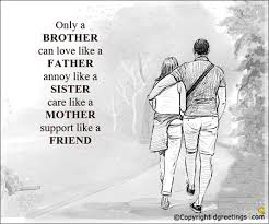 Brother Quotes New Quotes For Brother Best Quotes For Brother Saying Dgreetings