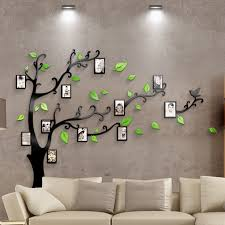 acrylic bedroom furniture. Hot Sell Tree With Photo Frame 3D Acrylic Wall Stickers Bedroom Furniture Living Room Sofa TV M