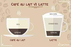 café au lait vs latte what s the