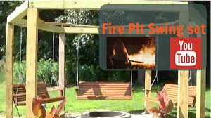 5 Swing Fire Pit Fire Pit Swings Youtube
