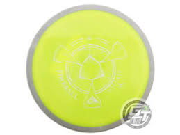 Details About New Axiom Discs Neutron Fireball 168g Yellow Gray Rim Distance Driver Golf Disc