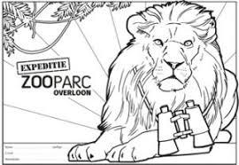 Kleurplaten Zooparc Overloon