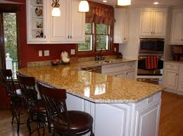 Santa Cecilia Granite Kitchen Great Design Millenium Gold Counter Tops Kitchen Venetian Gold