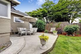 concrete patio cost to build