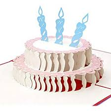 Amazoncom Paper Love Pop Up Birthday Card Happy Birthday Cake