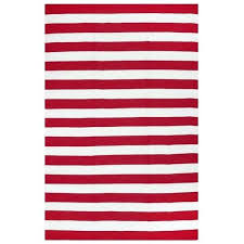 red and white striped rug fab habitat indoor outdoor red white contemporary stripe area rug red red and white striped