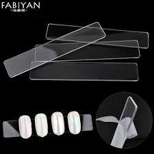 Chart Holder Flask 10pcs Set Nail Art Board Display Clear Bar Tips Holder Acrylic Chart Manicure Tools Practice False Stick Uv Gel Polish Diy Salon
