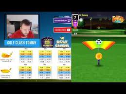 Golf Clash Tips Golden Shot Difficult Level Medium 5 Shots Guide Tutorial