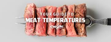 Guide To Meat Temperatures Steak Char Griller