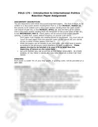 writing film reaction papers get a custom high quality essay here give a reaction paper response