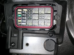 fuse box cover won t seal polaris slingshot forum the solution is to loosen both bolts center the fuse box put the cover on securely and tighten the bolts both tabs should extend out evenly as seen