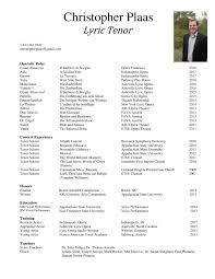 Christopher Plaas Bio And Resume