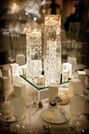 Submerged Babys Breath For A Winter Wedding Floating Flower Centerpiecesfloating Candles