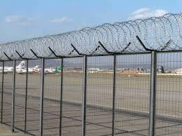 barbed wire fence prison. China Anti-Climbing Razor Barbed Wire Mesh Prison Fence For . C
