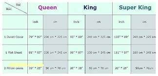 Flat Sheet Size Chart Bed Sheet Sizes Chart Freesell Club
