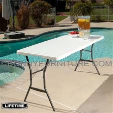 lifetime 5 foot fold in half table lifetime 5 foot 60 inches fold in half table
