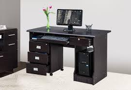 office table photos. Royaloak Petal Office Table - Black Photos