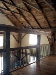 loft guardrail. post and beam loft railing guardrail
