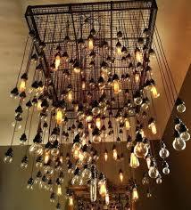 bulb chandeliers