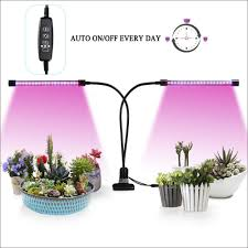 Portable Greenhouse With Grow Lights Led Grow Lights Auto On Off Every Day Two Way Timer 20w Shengsite Dual Head Growing Light For Indoor Garden Greenhouse Plants 3 9 12h Memory Timing 5