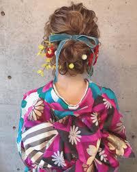 成人式ヘアで見つけた今時可愛いヘアアレンジ特集 Marryマリー