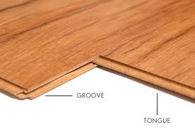 tongue and groove on laminate flooring
