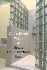 lighted glass block wall best shower ideas on blocks this was in easy to  install section . lighted glass block ...