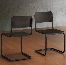 Retro Metal Kitchen Table Metal Dining Chair Metal Dining Chairs Wood Table New With Image