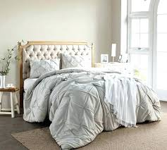 oversized king duvet photo 6 of 6 silver birch pin tuck king oversized king duvet cover