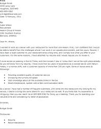 Hospitality Cover Letters Best Cover Letter Examples Images On Cover
