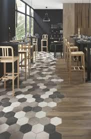 Restaurant Kitchen Tiles Carrelage Hexagonal Tendance Idces De Couleurs Et Designs