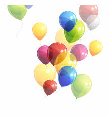 Balloon Birthday Floating Balloons Transprent Png Free