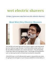 Doc Wet Electric Shavers Iron Man Academia Edu