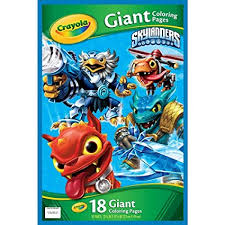 Amazoncom Crayola Skylanders Giant Coloring Pages Toys Games