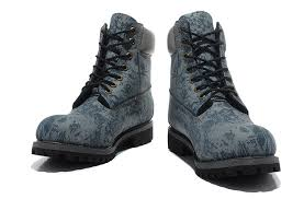 reliable timberlands 6 inch boots all black 10081 zoo blue grey leather work boots men s waterproof
