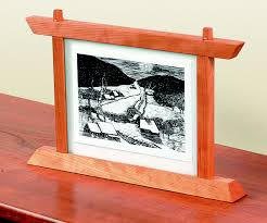 build a two sided picture frame startwoodworking com