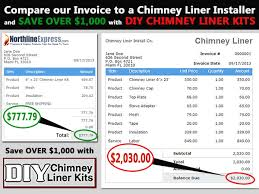 chimney liner installation cost. Plain Liner Chimney Liner Buyers Guide On Installation Cost E