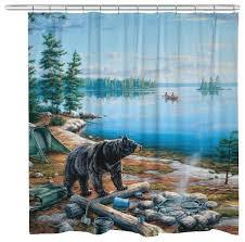 lake shower curtain bear lake shower curtain lake rules shower curtain